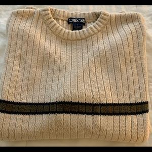 Men's Cherokee tan sweater